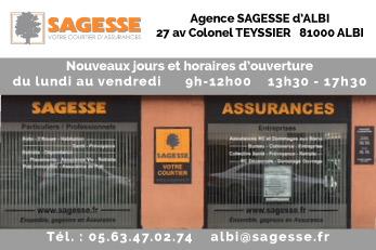 Agence d'Albi : nouveaux horaires d'ouverture