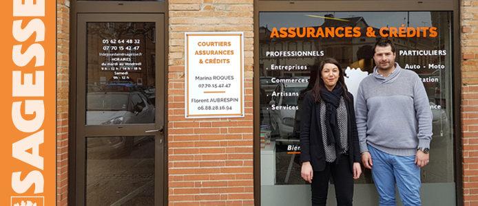Zoom sur l'agence SAGESSE de L'Isle Jourdain : Courtage en Assurances et Crédits