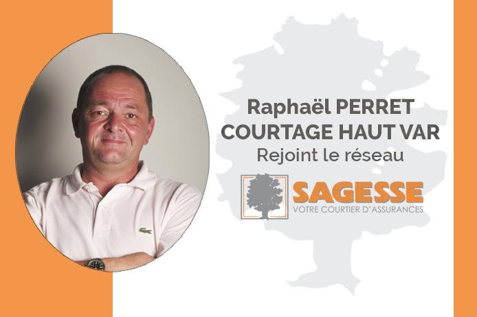 Raphaël PERRET, nouvel affilié SAGESSE